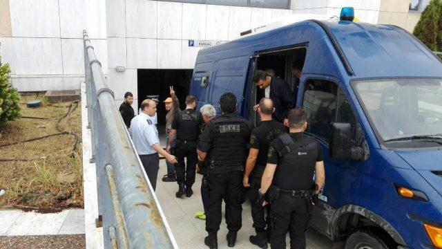 Σύλληψη Προέδρου Αγροτών από T.A.P. (VIDEO)